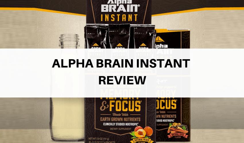 Alpha Brain Instant Review Is Onnits Liquid Nootropic Formula Good