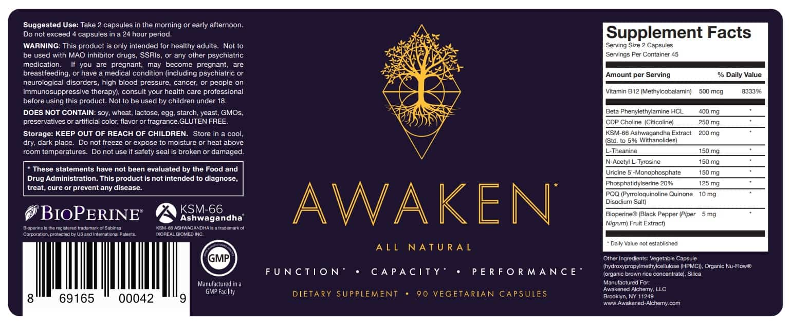 Awaken Review - Is This Nootropic From Awakened Alchemy Good?